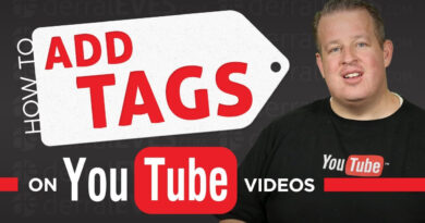 Tags on YouTube