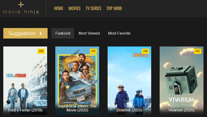 MovieNinja - Top 5 Alternative Websites Like Movieninja