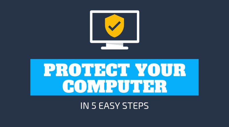 5 Tips to Protect Data on Your Computer